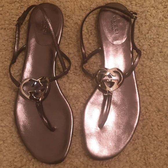 0c578c87295c Gucci Ellesmere thong sandal. Never worn